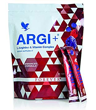 """ARG+ فوريفر آرجي+ مجموعة فيتامينات بحمض الآرجينين """"العنصر المعجزة"""" مع نكهة التوت اللذيذة – يعزز تدفق الدم ويدعم العديد من الأنظمة الهامة في الجسم!"""
