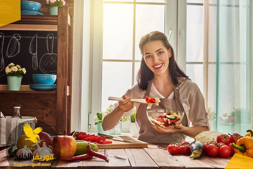 حافظ على تناول الفاكهة والخضار الطازج